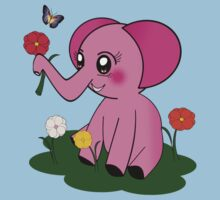 Pinky Elephant Kids Clothes