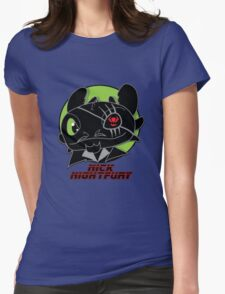 Nick Night Fury Womens Fitted T-Shirt