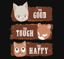 The Good, The Tough and The Happy Kids Tee