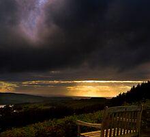 Dervaig Sunset by Brian Canavan