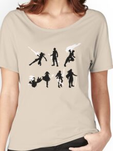 Xenoblade party silhouette (ver. 2) Women's Relaxed Fit T-Shirt