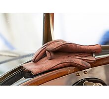 Driver's Gloves Photographic Print