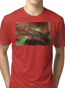 Garter Snake Portrait Tri-blend T-Shirt