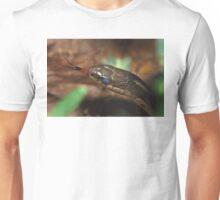 Garter Snake Portrait Unisex T-Shirt