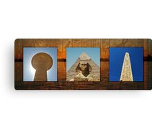 Memories of Egypt Canvas Print