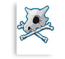 Cubone Skull And Bones Canvas Print