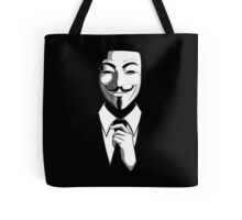 Anonymous (group) - Collar and Tie Tote Bag