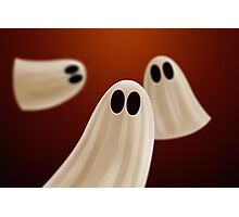 Halloween Ghosts Photographic Print