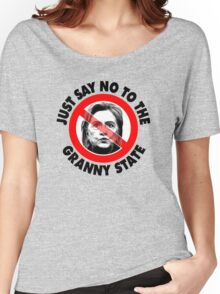 Just Say No Granny State Women's Relaxed Fit T-Shirt