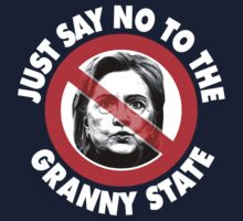 Just Say No Granny State One Piece - Short Sleeve