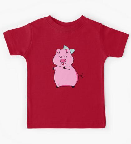 Piggy Pink Kids Tee