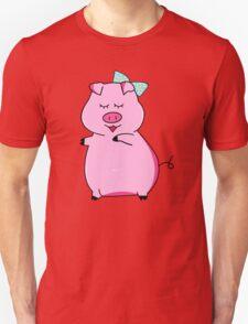 Piggy Pink Unisex T-Shirt