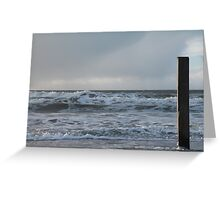 View to the sea Greeting Card