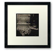 Disturbia Framed Print