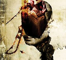FRAGMENTS OF A HEAD AND A HEART IN A RANDOM SUBJECT by Alvaro Sánchez