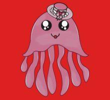 Lady Jellyfish One Piece - Short Sleeve