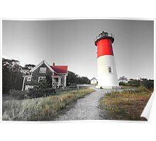 Nauset Light, Massachusetts. Poster