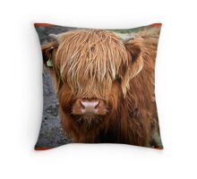 Who are you staring at???????????????? Throw Pillow