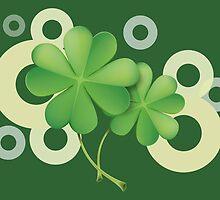 Saint Patrick's Day - Clovers by Vitalia