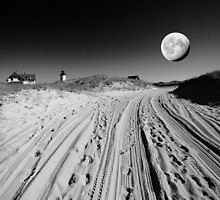 Moon. by capecodart