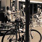 Town of Bikes. by Artist Dapixara