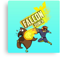 FALCON PUNCH! Canvas Print