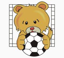 Soccer Bear Baby Tee