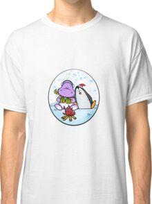 Hippo & Penguin Classic T-Shirt