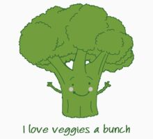I love veggies a bunch Kids Clothes