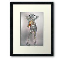Ice Girl Framed Print