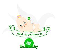 Peas To You Photographic Print