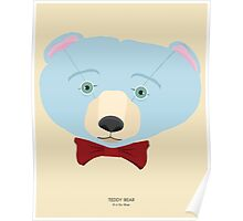 Teddy Bear: B is for Blue Poster