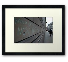 Bank of England Framed Print