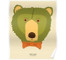 Teddy Bear: G is for Green Poster