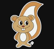 Rally Squirrel Kids Tee