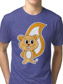 Rally Squirrel Tri-blend T-Shirt