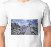 A Boardwalk at St. Andrews Unisex T-Shirt