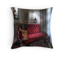 Even the wicked must rest... Throw Pillow