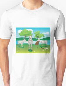 Goat and Green Lawn2 T-Shirt
