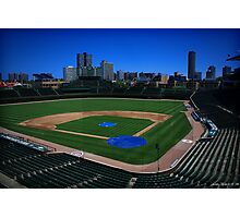 Wrigley Field 01 Photographic Print