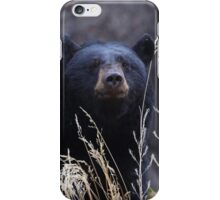 Black Bear Smile iPhone Case/Skin