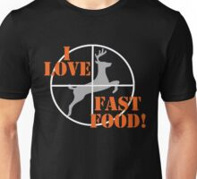 I Love Fast Food Unisex T-Shirt