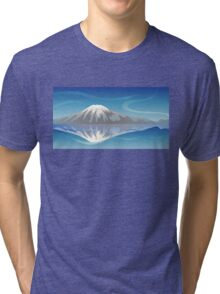 Snow Mountain Tri-blend T-Shirt