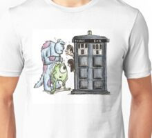 Monsters vs Doctor who Unisex T-Shirt