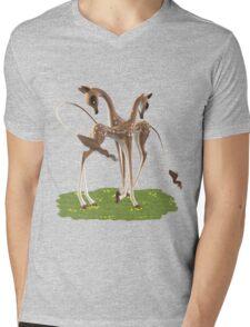 Cute Deer  Mens V-Neck T-Shirt
