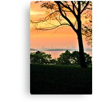 World's End Canvas Print