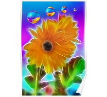 Sunflowers For Julie Poster