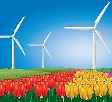 Wind turbine 2 by AnnArtshock