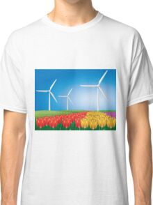 Wind turbine 2 Classic T-Shirt