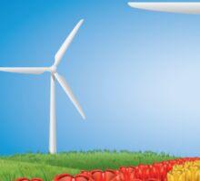 Wind turbine 2 Sticker